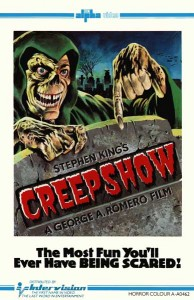 Creepshow UK Pre Cert Intervision VHS Video