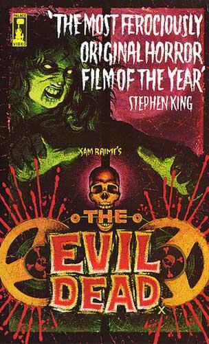 The Evil Dead UK Pre Cert Vhs Palace Video