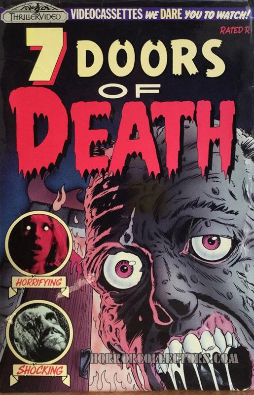 7 DOORS OF DEATH THRILLER VIDEO VHS AKA THE BEYOND