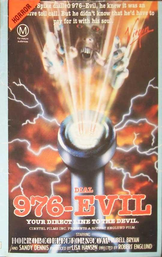 976 Evil Australian Virgin VHS Video