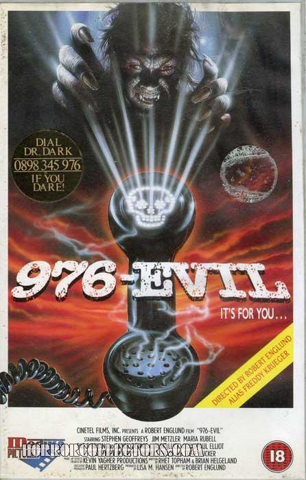976 Evil UK Medusa Pictures VHS Video