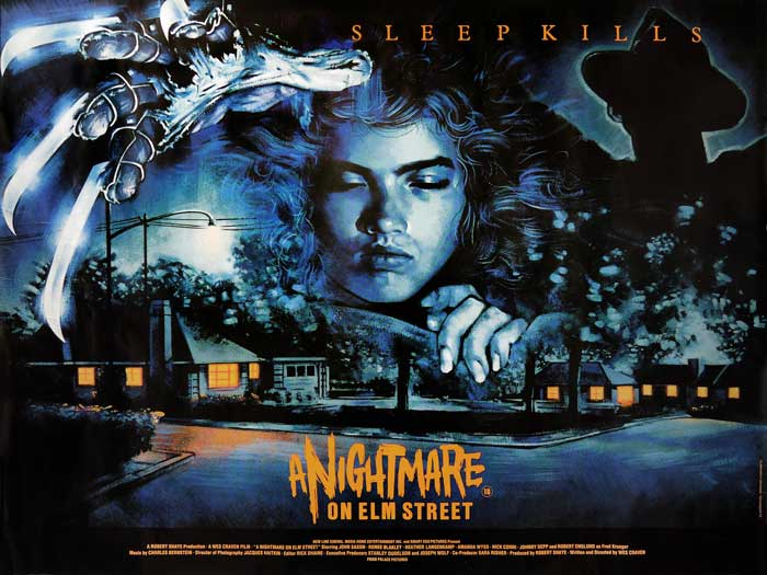 A Nightmare on Elm Street British Quad Poster