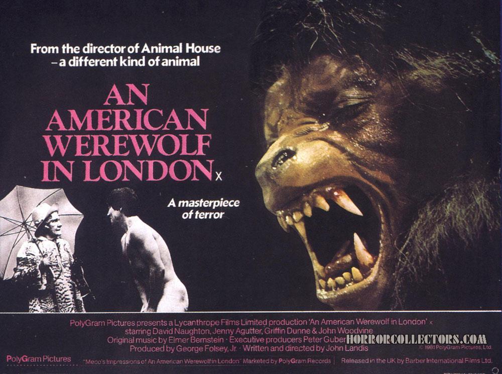 An American Werewolf in London British Quad Poster