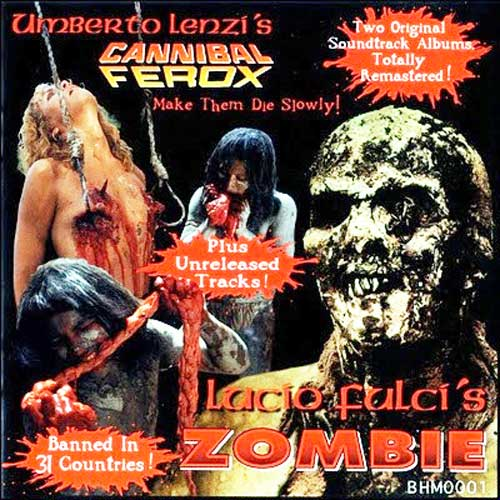 CANNIBAL FEROX / ZOMBIE BLACKEST HEART MEDIA CD OST