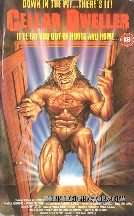 Cellar Dweller UK Entertainment In Video VHS