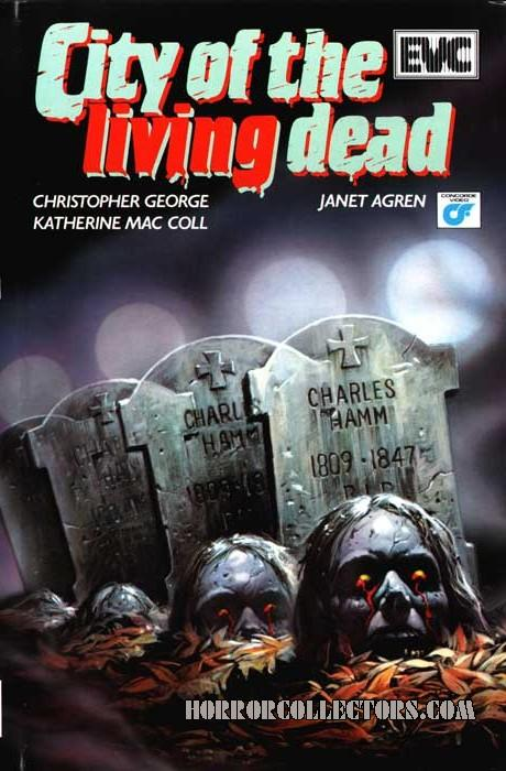 City of the Living Dead Netherlands EVC VHS Video