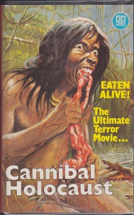 Cannibal Holocaust UK Go Video VHS Video