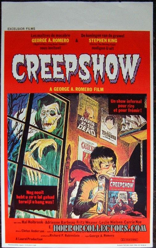 CREEPSHOW Belgian Excelsior Movie poster