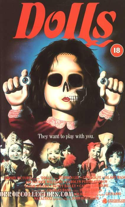 Dolls UK Vestron Video International VHS