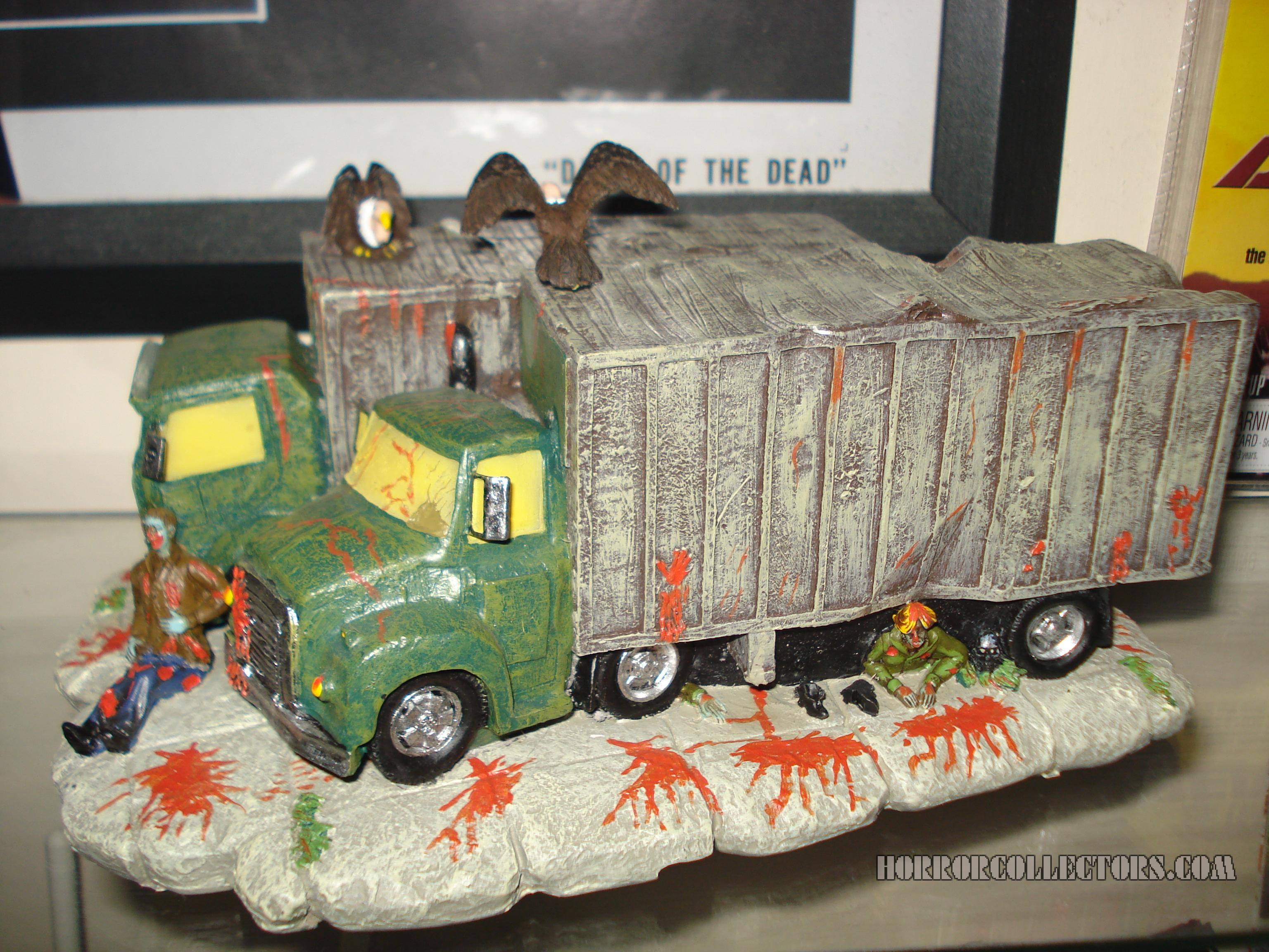 Dawn of the Dead Hawthorne Village of Horror Zombie Attack BP Trucks