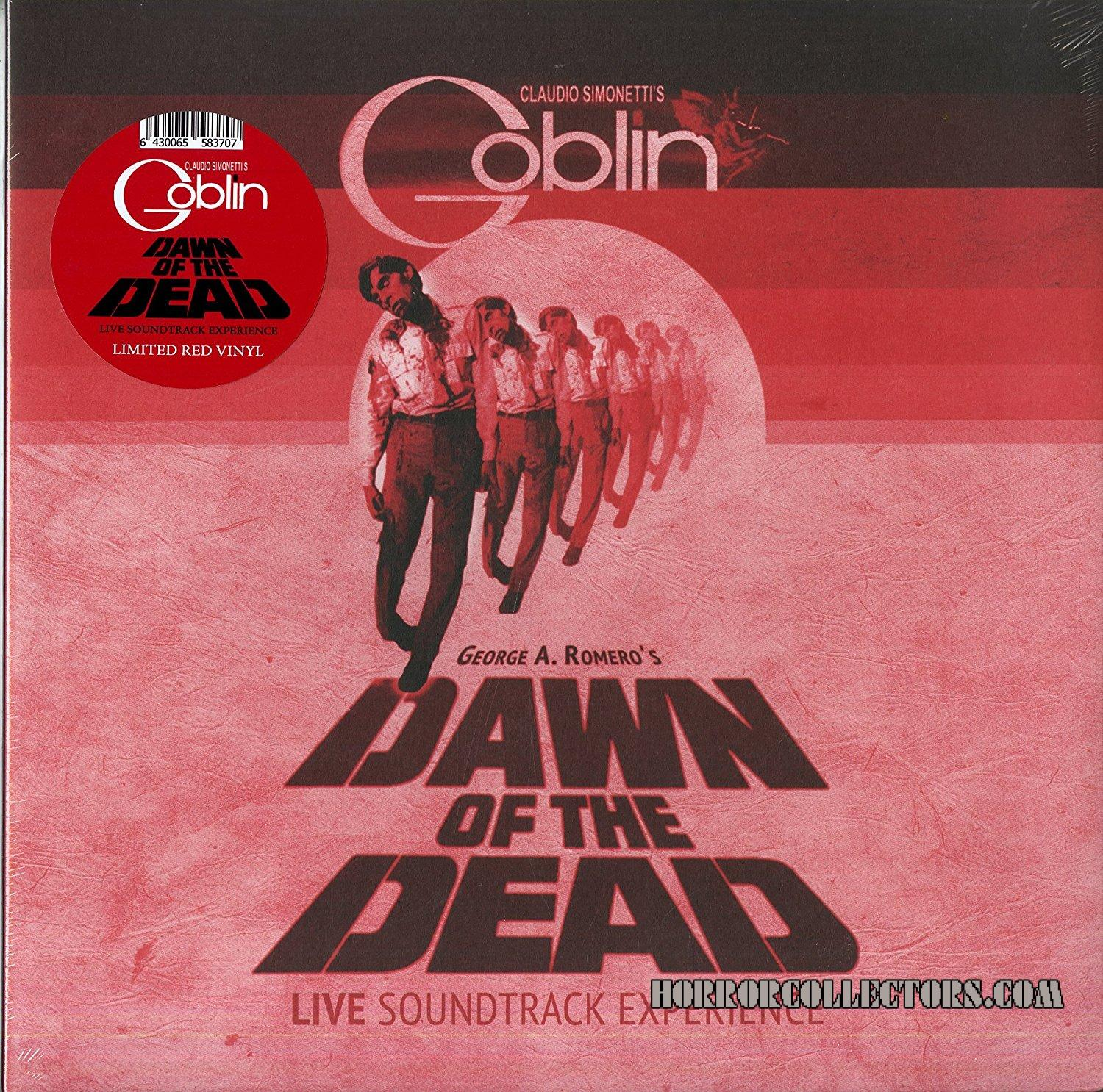 Dawn of the Dead live in Helsinki Claudio Simonettis Goblin LTD ED Red Vinyl