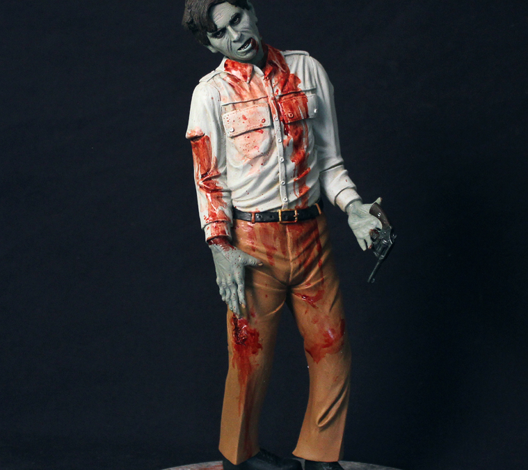 Dawn of the Dead Flyboy resin kit sculpted by Brian McGuire