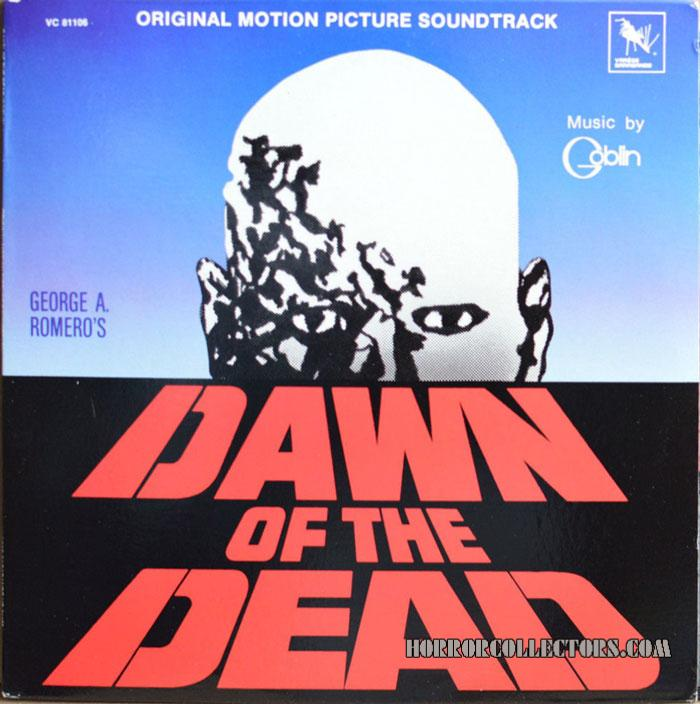 Dawn of the Dead USA Varese Sarabande Goblin Soundtrack LP
