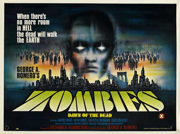 Dawn of the Dead British Quad Poster