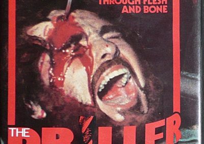 Driller Killer UK Vipco Pre Cert Video Nasty