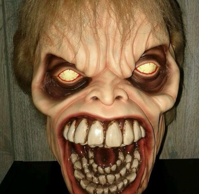 Evil Dead 2 Dead by Dawn Evil Ed replica head by Harry Inman
