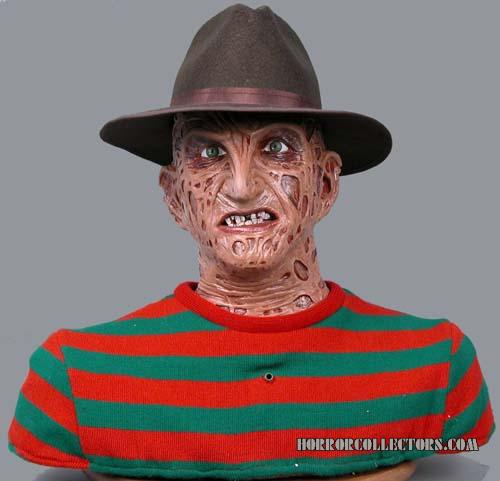 A Nightmare on Elm Street NECA Freddy Krueger Talking Head Bust
