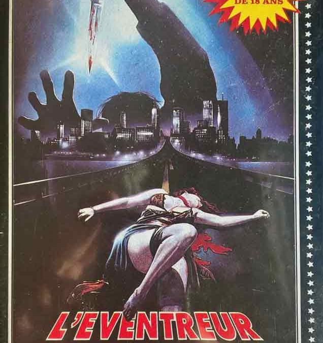 The New York Ripper French Rene Chateau Video L'eventreur De New-York