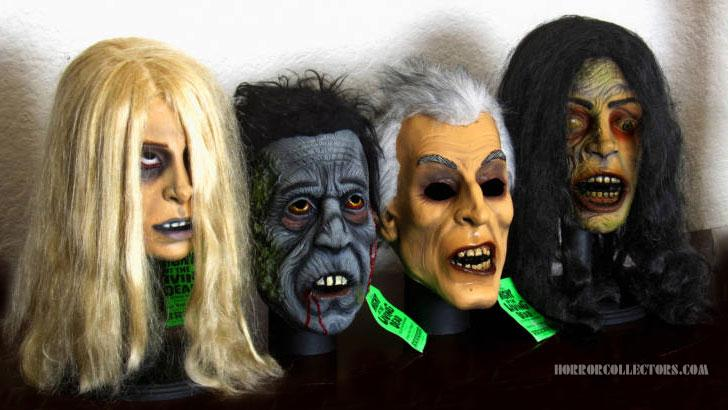 Night of the Living Dead American Mask & Novelty Co Mask set