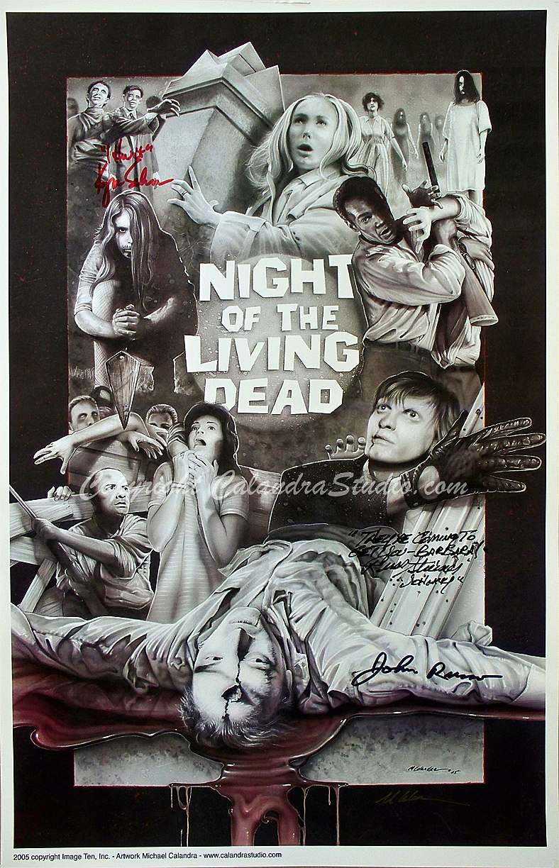 Night of the Living Dead 2005 Collage Calandra Studios