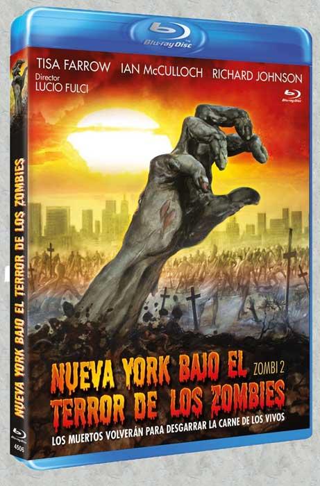 Zombi 2 Spanish Blu-ray Nueva York Bajo el Terror de los Zombies