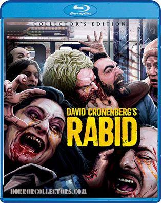 Rabid Collector's Edition Blu Ray coming from Scream Factory