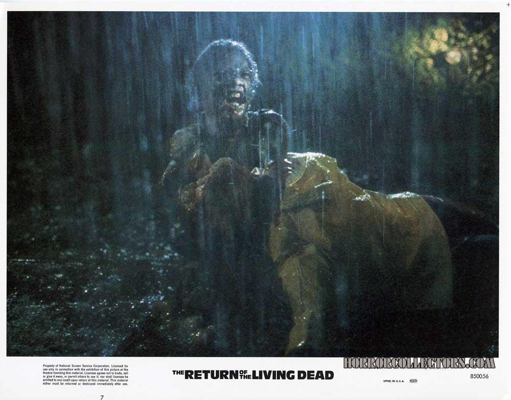 Return of the Living Dead USA Orion Pictures Lobby Cards
