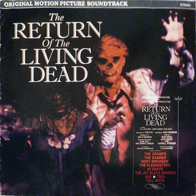 Return of the Living Dead UK Big Beat Soundrtack LP