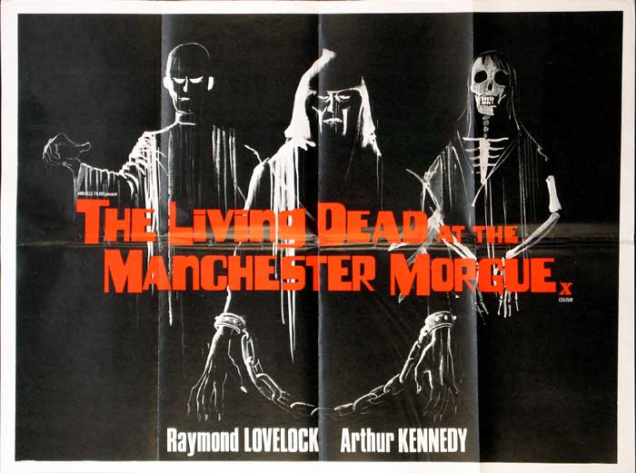 The Living Dead At Manchester Morgue British Quad Poster