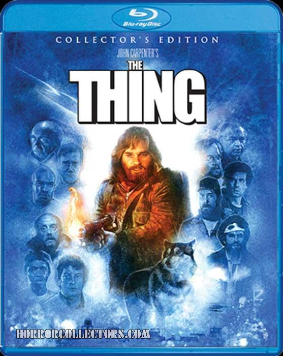 The Thing Scream Factory Collectors Edition Blu-Ray