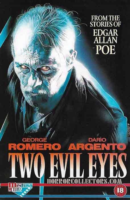 Two Evil Eyes UK Medusa Pictures Sample Promo Video Sleeve