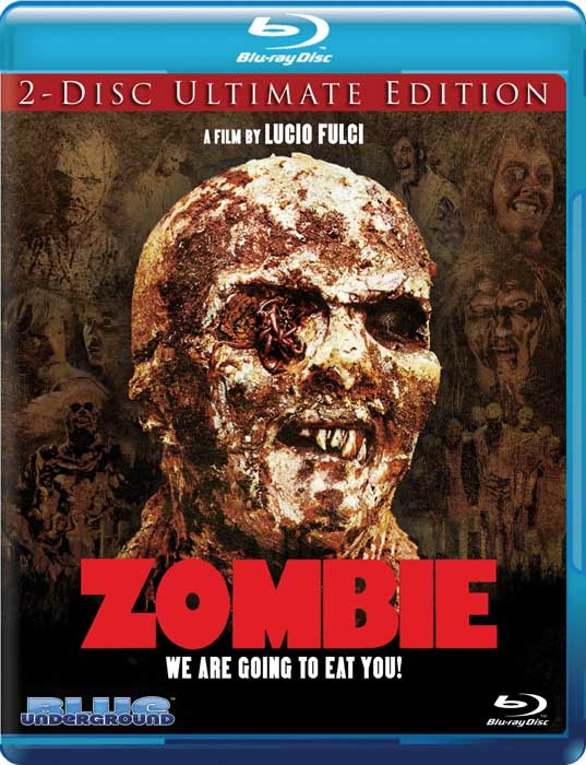 Zombie Blue Underground 2-Disc Ultimate Edition Blu-ray