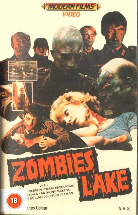 Zombies Lake UK Modern Films VHS Video