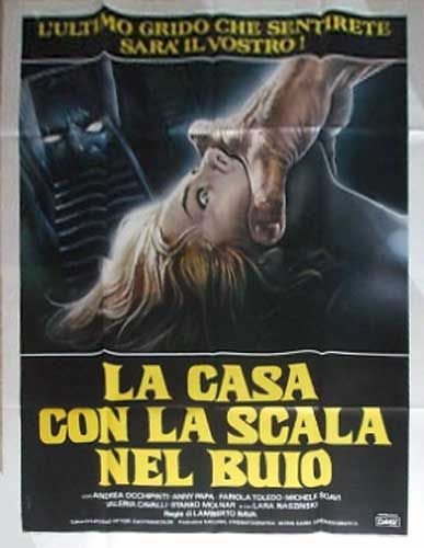 A Blade In The Dark Italian 4 Sheet Poster