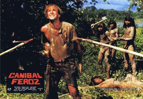 Cannibal Ferox Spanish Lobby Cards