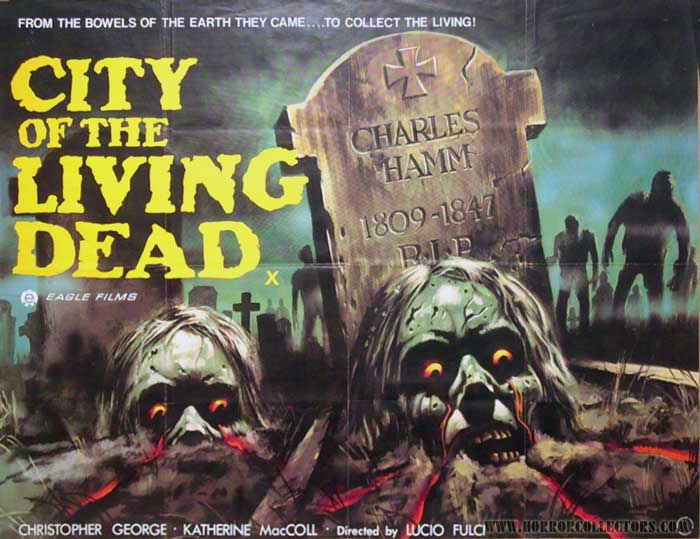 City of the Living Dead British Quad Poster