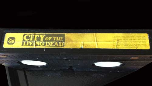 City of the Living Dead Inter Light VHS Video