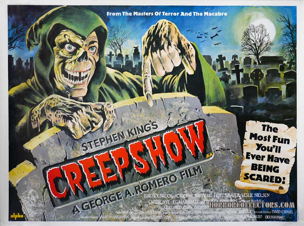CREEPSHOW BRITISH QUAD POSTER