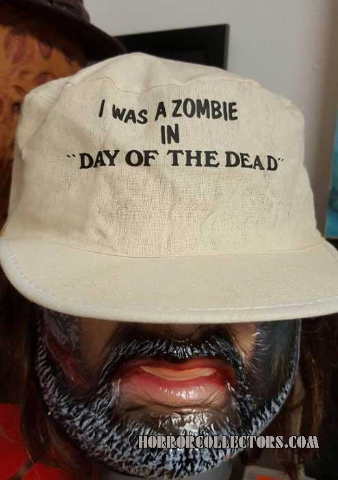 Day of the Dead I was a zombie souvenir hat