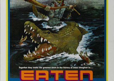 Eaten Alive USA one sheet poster