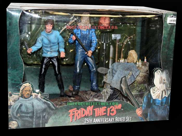 friday the 13th neca 25 anniversary box set