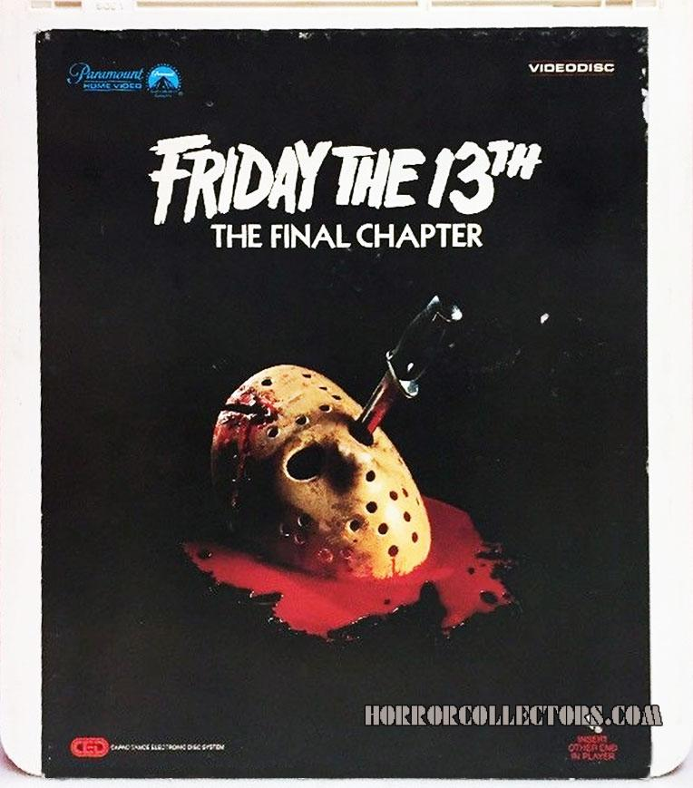 Friday the 13th Part 4 Paramount CED Video Disc