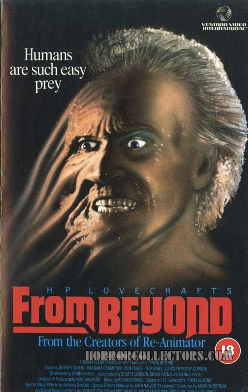From Beyond UK Vestron Video