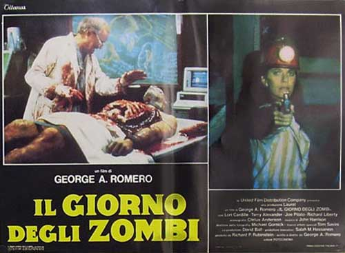 Day of the Dead set of 8 Italian Fotobusta Posters