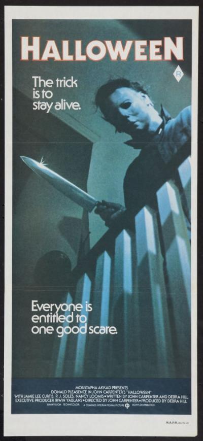 Halloween Australian Daybill Poster