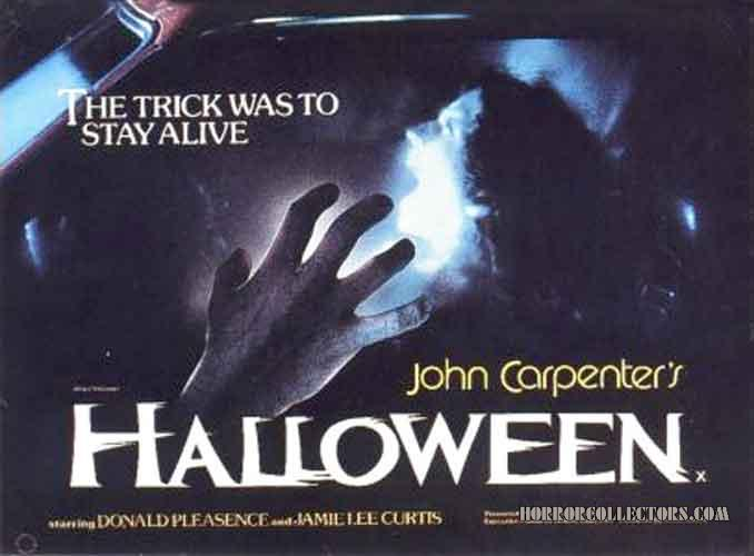 Halloween UK British Quad Poster