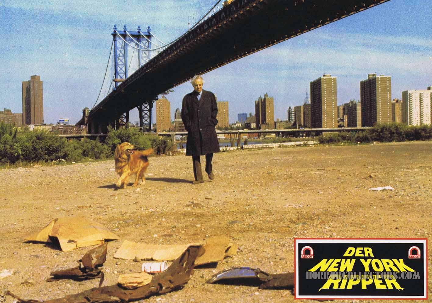 New York Ripper German Lobby Cards