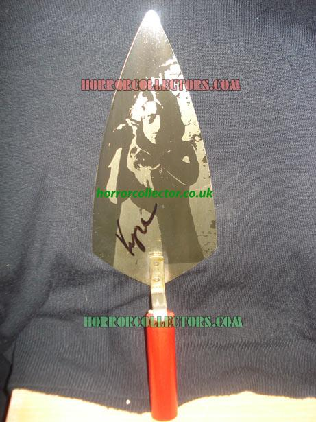NIGHT OF THE LIVING DEAD SIGNED 1992 SOUVENIR TROWEL