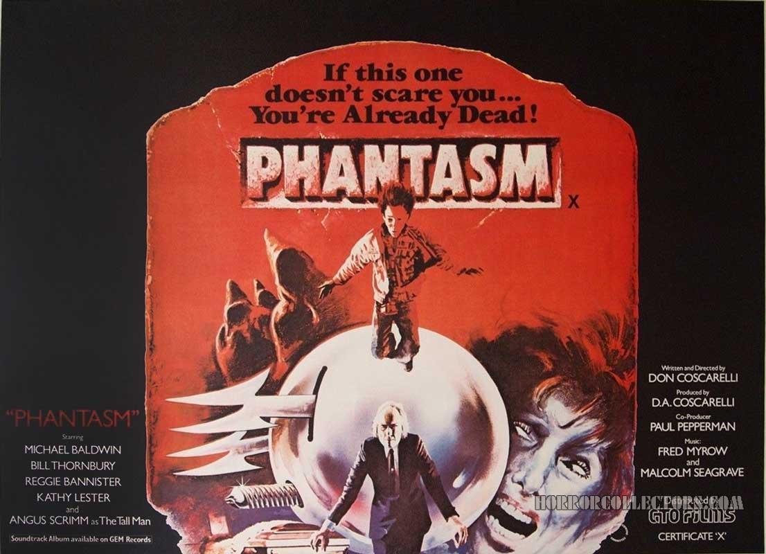 Phantasm British Quad Poster