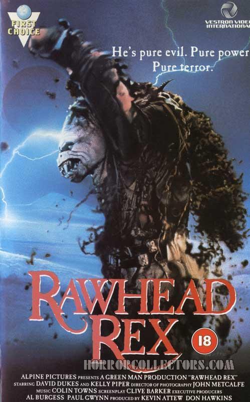 Rawhead Rex UK Vestron Video